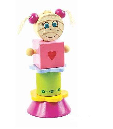 Cubos de Montar Boneca Nina (3 anos+)