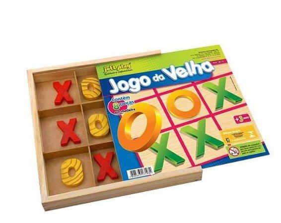 Jogo da velha (7 anos+)