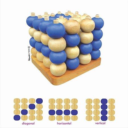 Jogo da Velha Tridimensional (6 anos+)