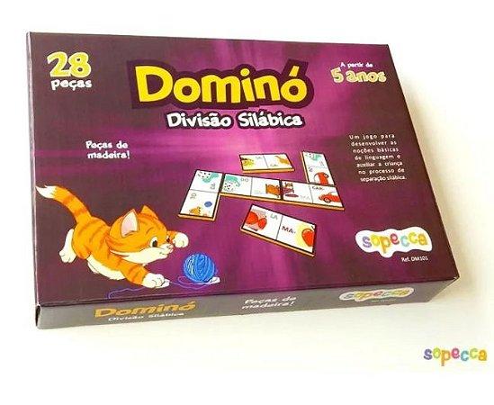 Jogo de Dominó - divisão silábica (5 anos+)