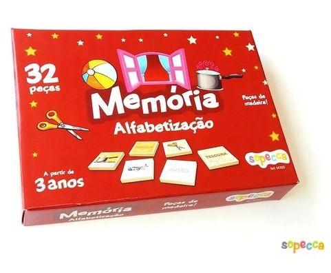 Jogo da memória - alfabetização (3 anos+)