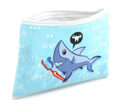 Necessaire envelope - tubarão
