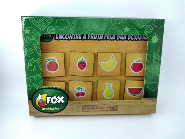 Jogo das Sombras - Frutas (3 anos+)