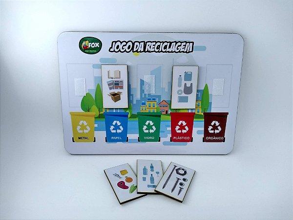 Bingo Educativo da Reciclagem (4 anos+)