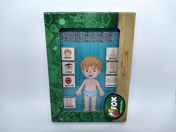 Jogo do corpo humano (4 anos+)