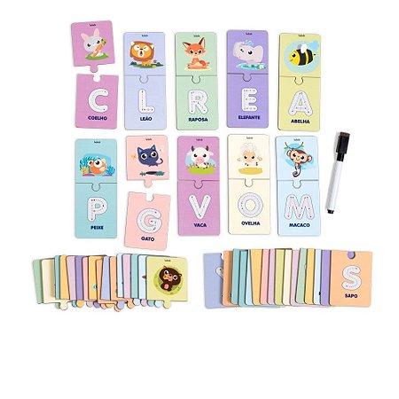 Alfabeto Ilustrado Escreva e Apague (4 anos+)