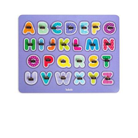 Meu Primeiro Quebra -Cabeça Alfabeto 4 anos +