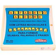 Alfabeto Alegre (3 anos+)