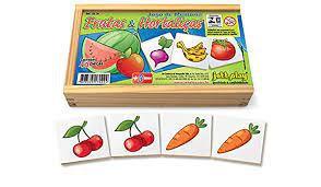 Jogo da Memória Frutas e Hortaliças (3 anos+)
