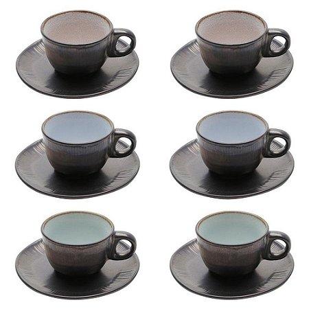 CJ 6 XICARAS P/CAFÉ