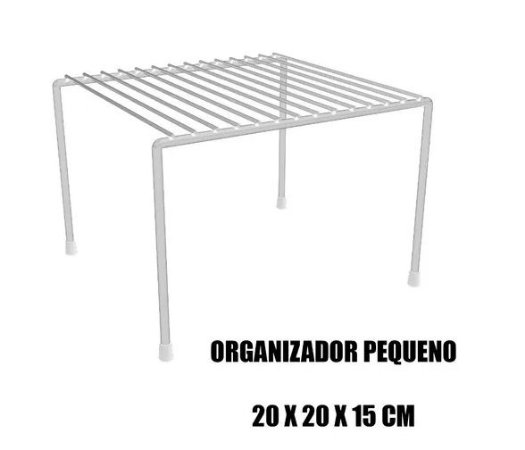ORGANIZADORES DE ARMÁRIO PEQUENO 20 x 20 x 15
