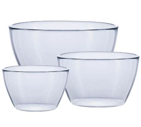 CONJUNTO BOWL TROPICAL C/ 3 PCS