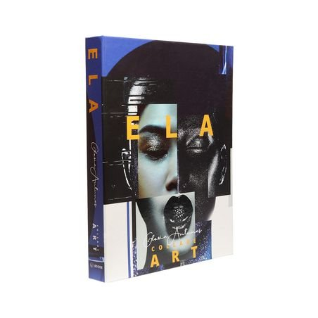 BOOK BOX ELA COLLAGE ART