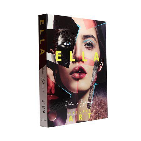 BOOK BOX ELLA COLLAGE ART