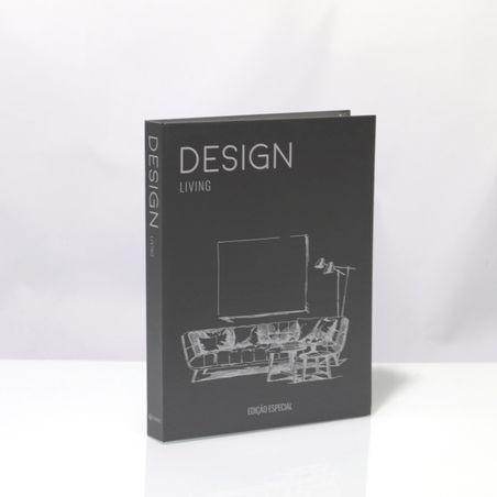 BOOK BOX METALIZ HOT DESIGN