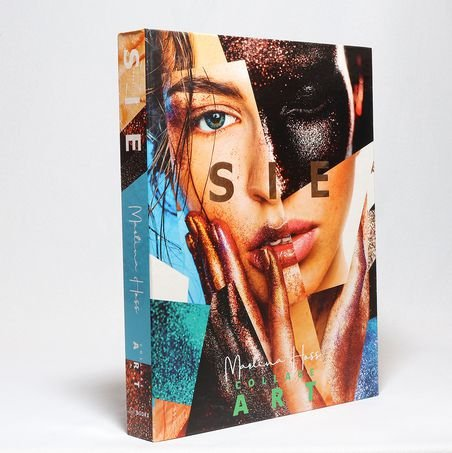 BOOK BOX SIE COLLAGE ART