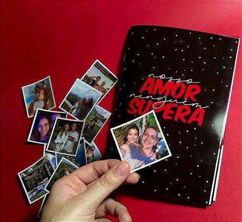Álbum de Figurinhas Nosso Amor Ninguém Supera