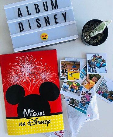 Álbum de Figurinhas Eu Na Disney