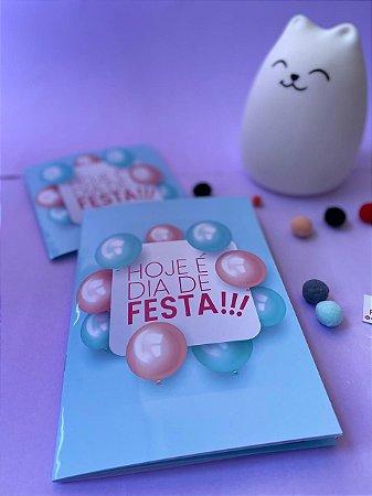 Álbum de Figurinhas Hoje é Dia de Festa