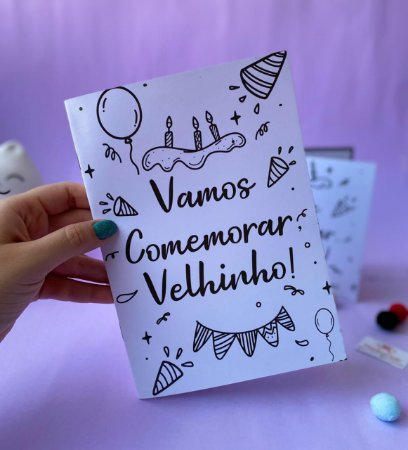 Álbum de Figurinhas Vamos Comemorar, Velhinho!