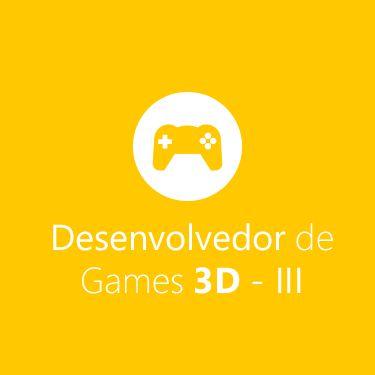 Curso de Desenvolvedor de Games 3D - Módulo III