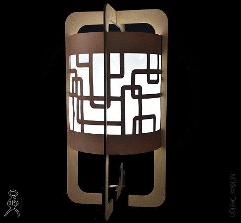 Luminária de mesa Zane Deco