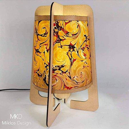 Luminária de mesa Naíma Linóleo