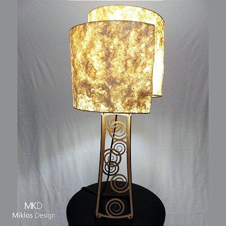 Luminária de mesa Spira