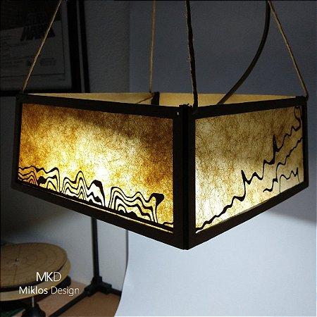 Luminária pendente Zita