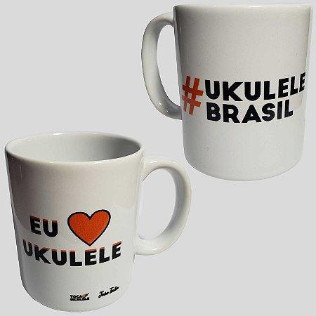 Caneca #UkuleleBrasil | Eu amo ukulele