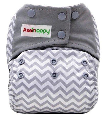 Fralda Ecológica Zig  Zag Asenappy - Modelo Pocket Ai2
