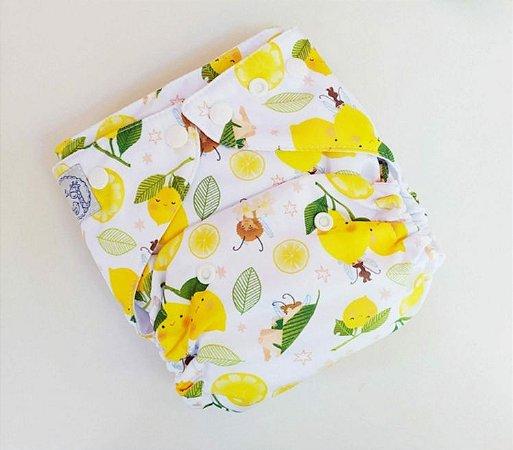 Fralda Ecológica Fadas e Limões Lêli