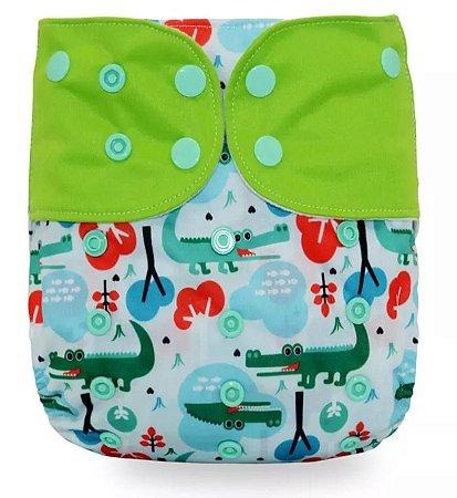 Jacaré - Ee'zKoala -Pull - Pocket - Interior em Suedine - Veste até 18 kg