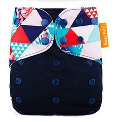 Formas Azul - Happy Flute - Pull - Pocket - Interior em Suedine