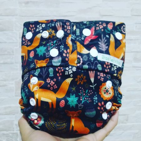 Raposa e Flores - Brasileirinha - Pull - Pocket - Interior em Dry-fit