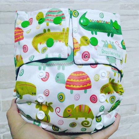 Animais - Brasileirinha - Pull - Pocket - Interior em Dry-fit