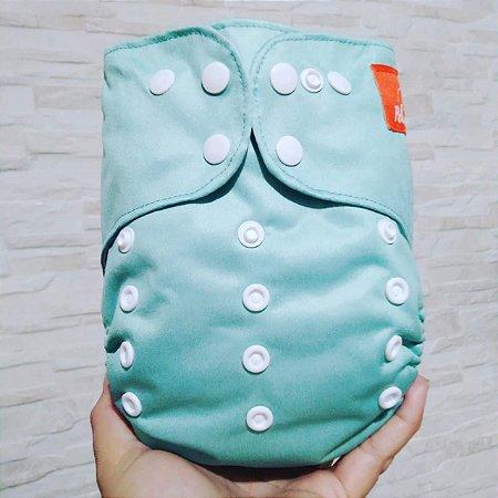 Verde Água - Pele a Pele - Pocket - Interior em dry-fit