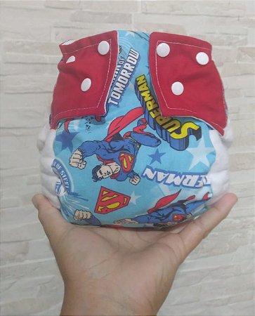 Super Man - Pequena Luna - Algodão - Pocket - Interior em dry-fit