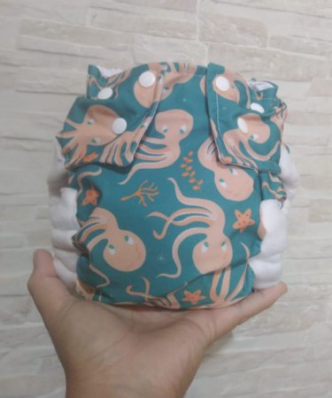 Polvo - Pequena Luna - Lycra - Pocket - Interior em dry-fit