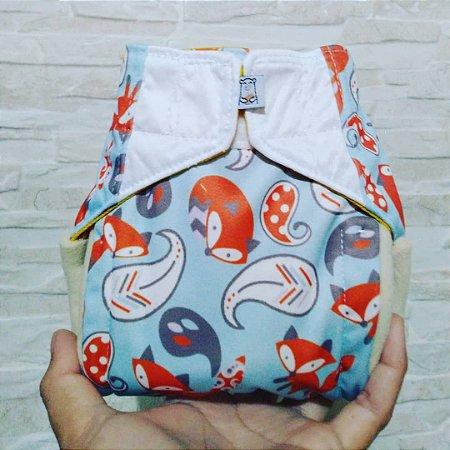 Raposa - Recém Nascido - Aurorinha - Pull - Pocket - Interior em dry-fit
