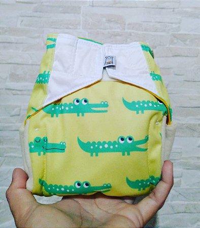 Jacaré - Recém Nascido - Aurorinha - Pull - Pocket - Interior em dry-fit