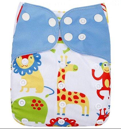 Safari Colorido - Simfamily - Pull - Pocket - Interior em suedine