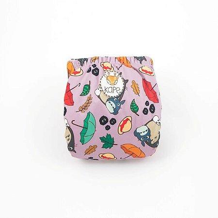 Totoro - Kape - Pocket -Interior em dry-fit