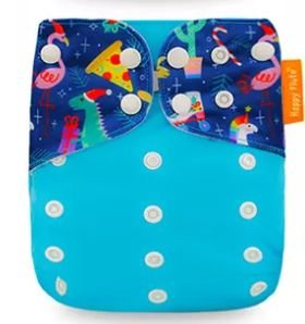 Natal Azul - Happy Flute - Pull - Pocket - Interior em Suedine