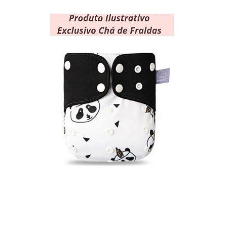 Fralda Ecológica Panda - Exclusivo Chá de Fraldas