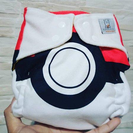 Pokebola - Aurorinha - Soft - Pocket - Interior em dry-fit