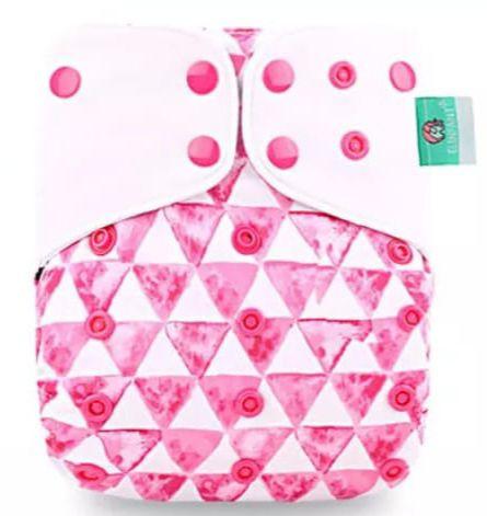Formas Rosa - Elinfant - Pull - Pocket - Interior em Malha de Café