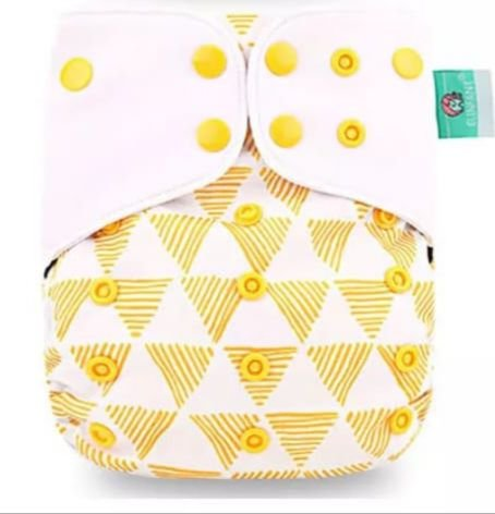 Formas Amarela - Elinfant - Pull - Pocket - Interior em Malha de Café