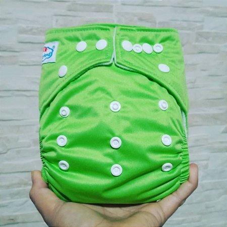 Verde - Babyland - Pull - Pocket - Interior em Microfleece