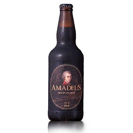 Cerveja Stout Com Café Puro Malte Amadeus